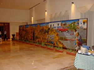 Mural Historical Sequence of the Peninsula of Baja California