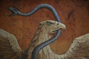 IMGMURAL OF THE REPUBLICAN EAGLE (Detail)