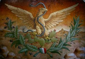 MURAL OF THE REPUBLICAN EAGLE