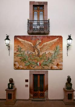 MURAL OF THE REPUBLICAN EAGLE (Detail)