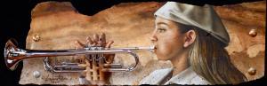 """ Trumpeter Adryana ""."