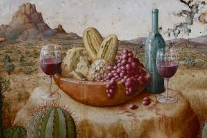 The Appointment, Bread and Wine Cheese (Detail)