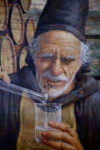 Hermes Trismegisto Tequilero (Detail)