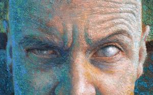 Self-portrait on a cloudy day ( Detail) (Detalle)